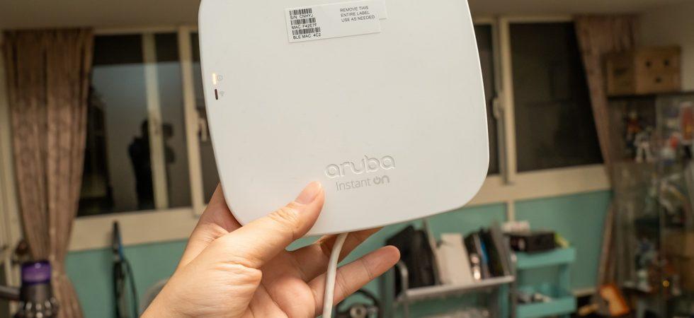 這個無線基地台不太一樣!家用商用都好用的 Aruba Instant On Wi-Fi 無線路由器 @3C 達人廖阿輝