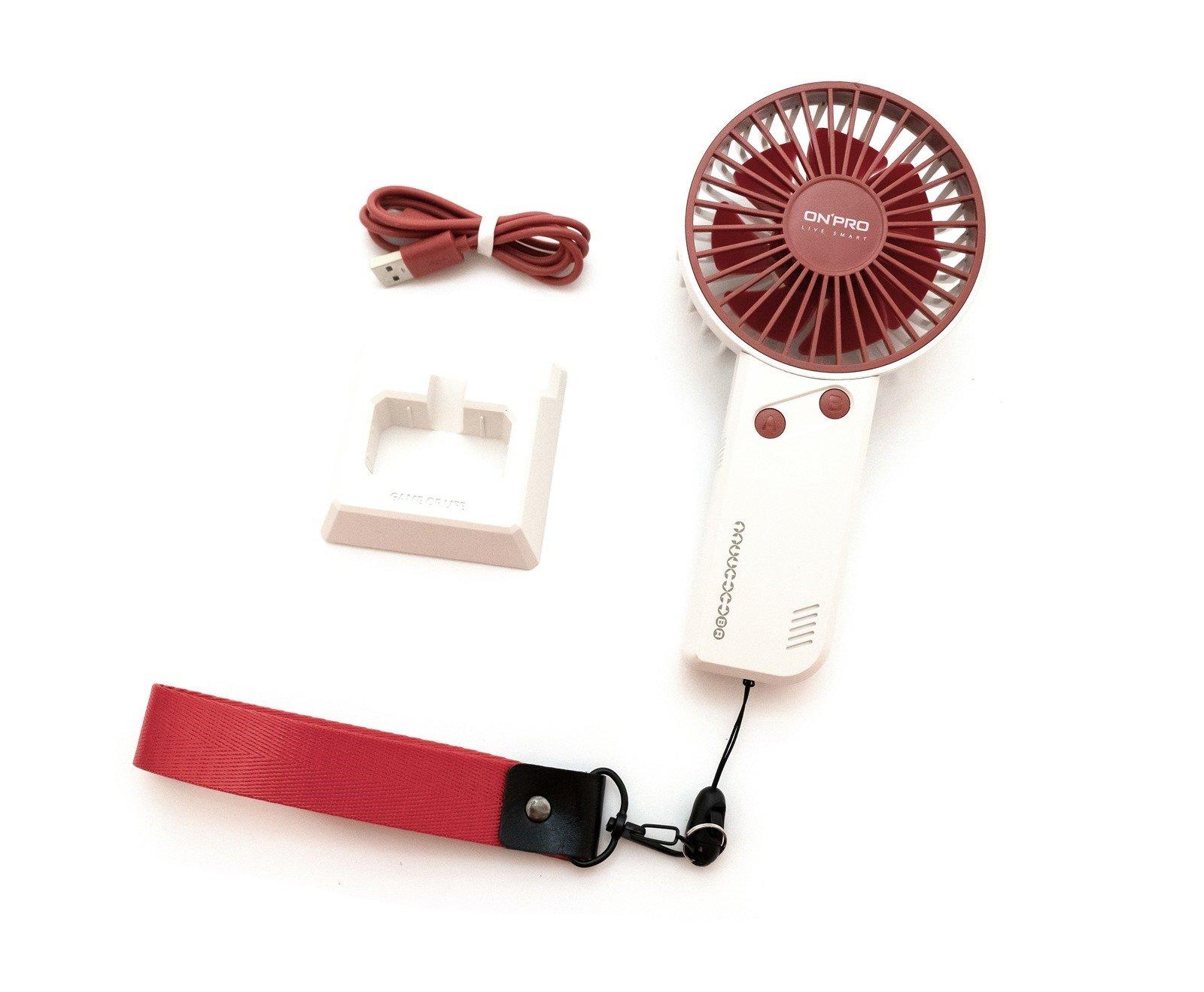 隨身小風扇推薦 UF-iFun,ONPRO 涼夏復刻經典紅白機趣玩樣式「任天風」@3C 達人廖阿輝