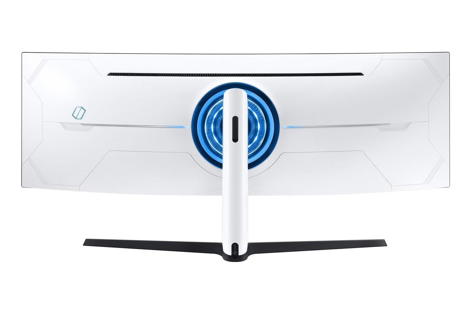 奧德賽 Odyssey 系列曲面電競螢幕氣勢登台全球首款雙 2K Odyssey G9、玩家首選 Odyssey G7 曲面電競螢幕領先業界獨創 1000R 曲率 強悍內在、科技外觀 暢享專業級遊戲快感 @3C 達人廖阿輝
