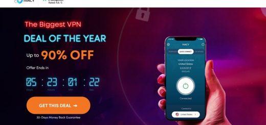 [90% 折扣!] 支援突破 Netflix 限制的高速無限流量 Ivacy VPN!超特惠每月不到台幣 30 元(教學/實測)(支援解除達 7 個區域 Netflx 播放限制) @3C 達人廖阿輝