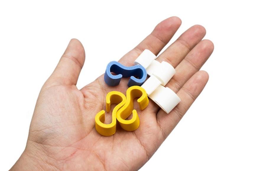 XYZprinting創作者3D列印機-da Vinci Jr. Pro X+,支援客製化的參數設定與第三方線材列印,可用PLA線材製作線材整理器