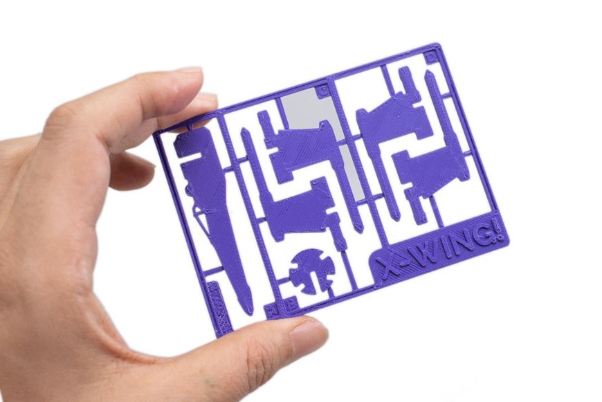 XYZprinting創作者3D列印機-da Vinci Jr. Pro X+,支援客製化的參數設定與第三方線材列印,可用ABS列印 X 戰機組合玩具