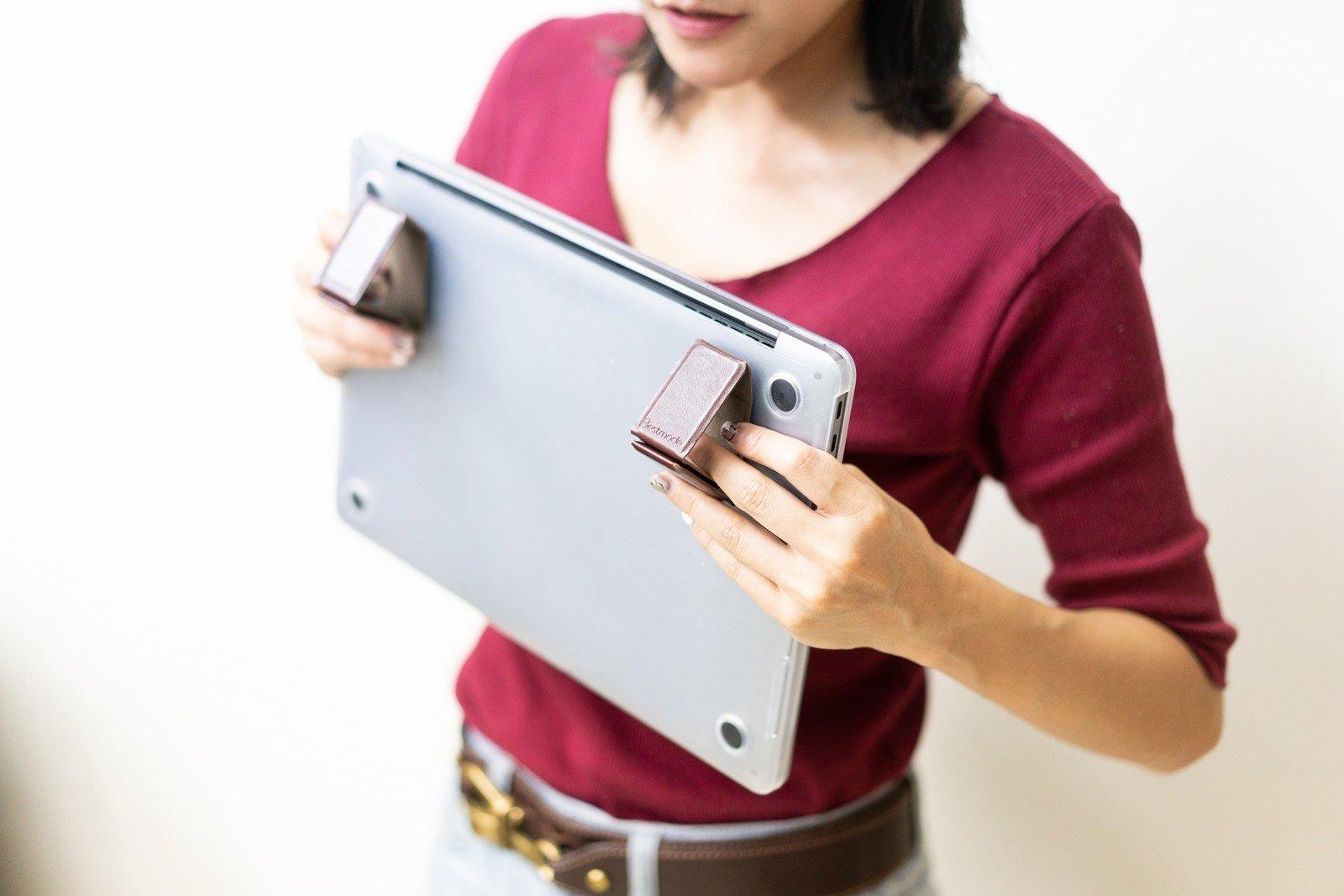 皮革質感、0.4cm 的超薄輕巧,優雅自由,地表最小最美 Bestmade NEO 皮革筆電架來了! @3C 達人廖阿輝