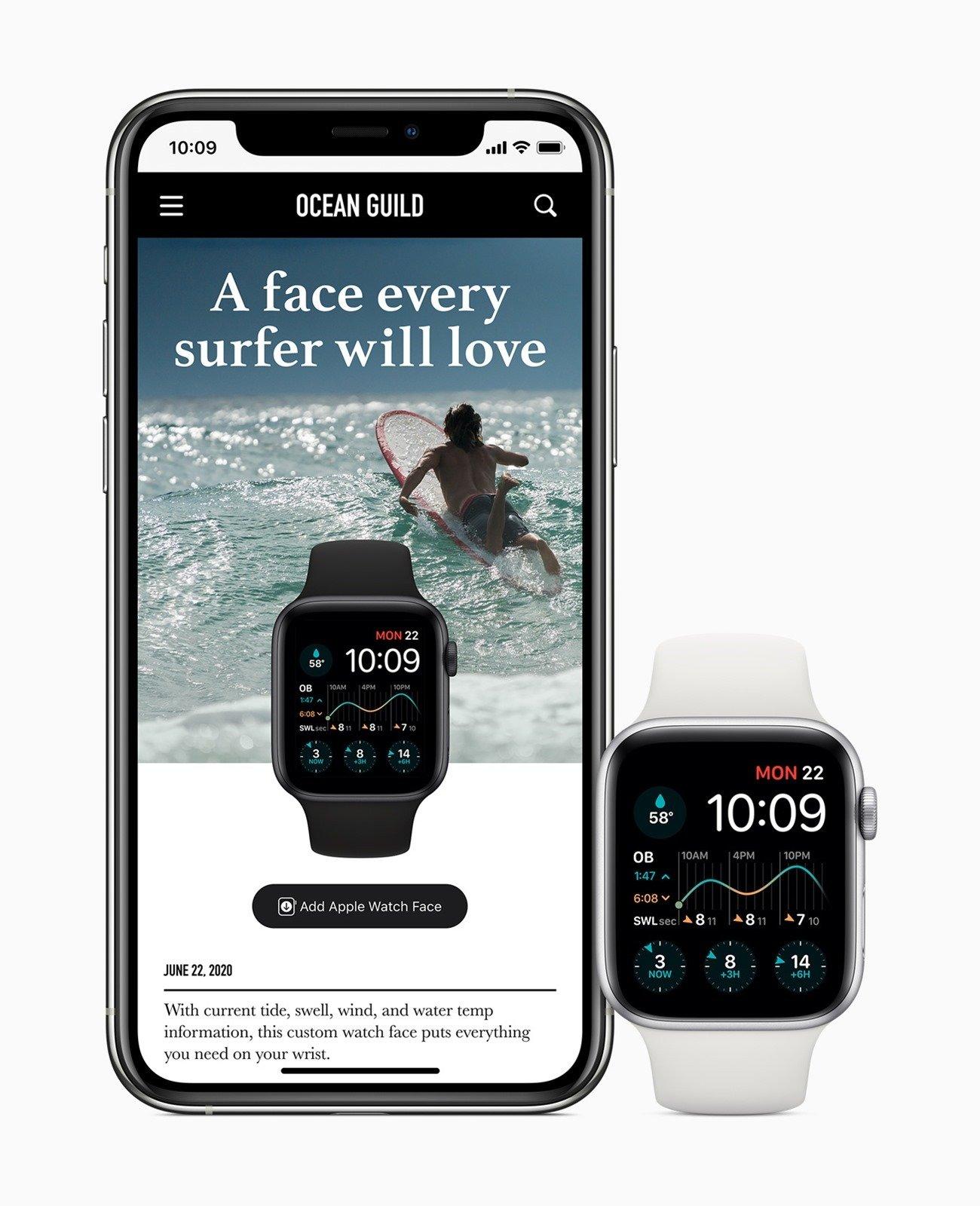 [WWDC 2020] watchOS 7 為 Apple Watch 增添重要的個⼈化、健康與健⾝功能、推出錶⾯共享、睡眠追蹤及⾃動洗⼿偵測功能 @3C 達人廖阿輝
