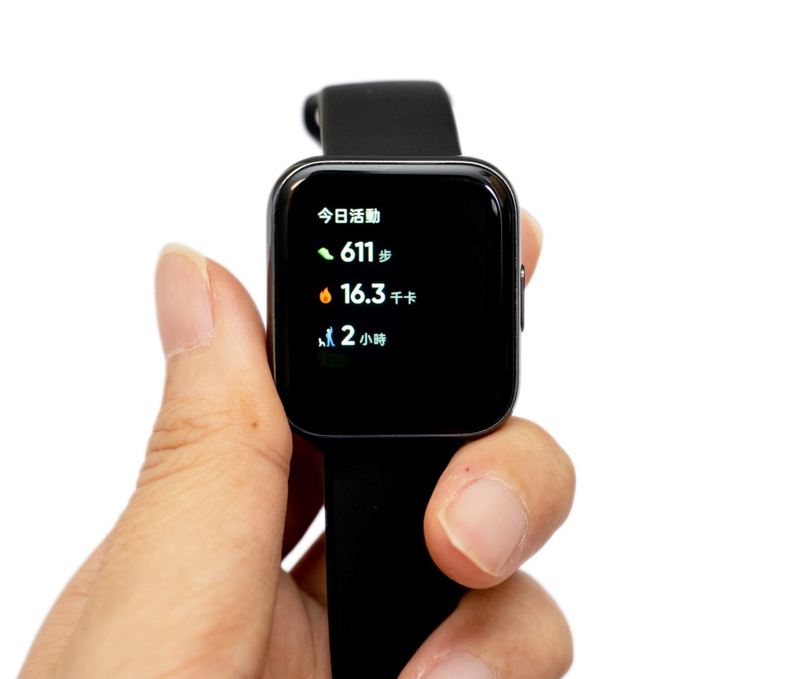 只要 1,299 全球最便宜!僅 31 克輕巧智慧型手錶 realme watch 功能完整心跳血氧偵測都具備! @3C 達人廖阿輝