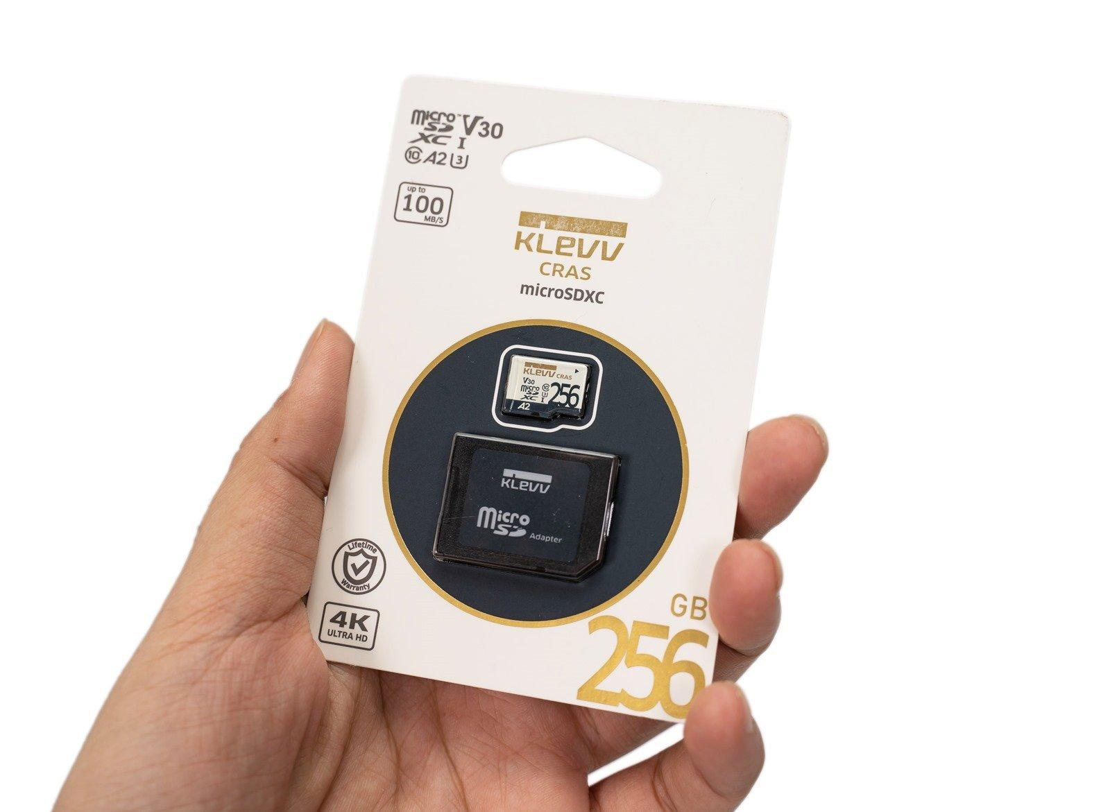 這張記憶卡好嗎?KLEVV 科賦 MicroSDXC 256GB 記憶卡 (U3/A2/V30) 手機電腦實測 @3C 達人廖阿輝