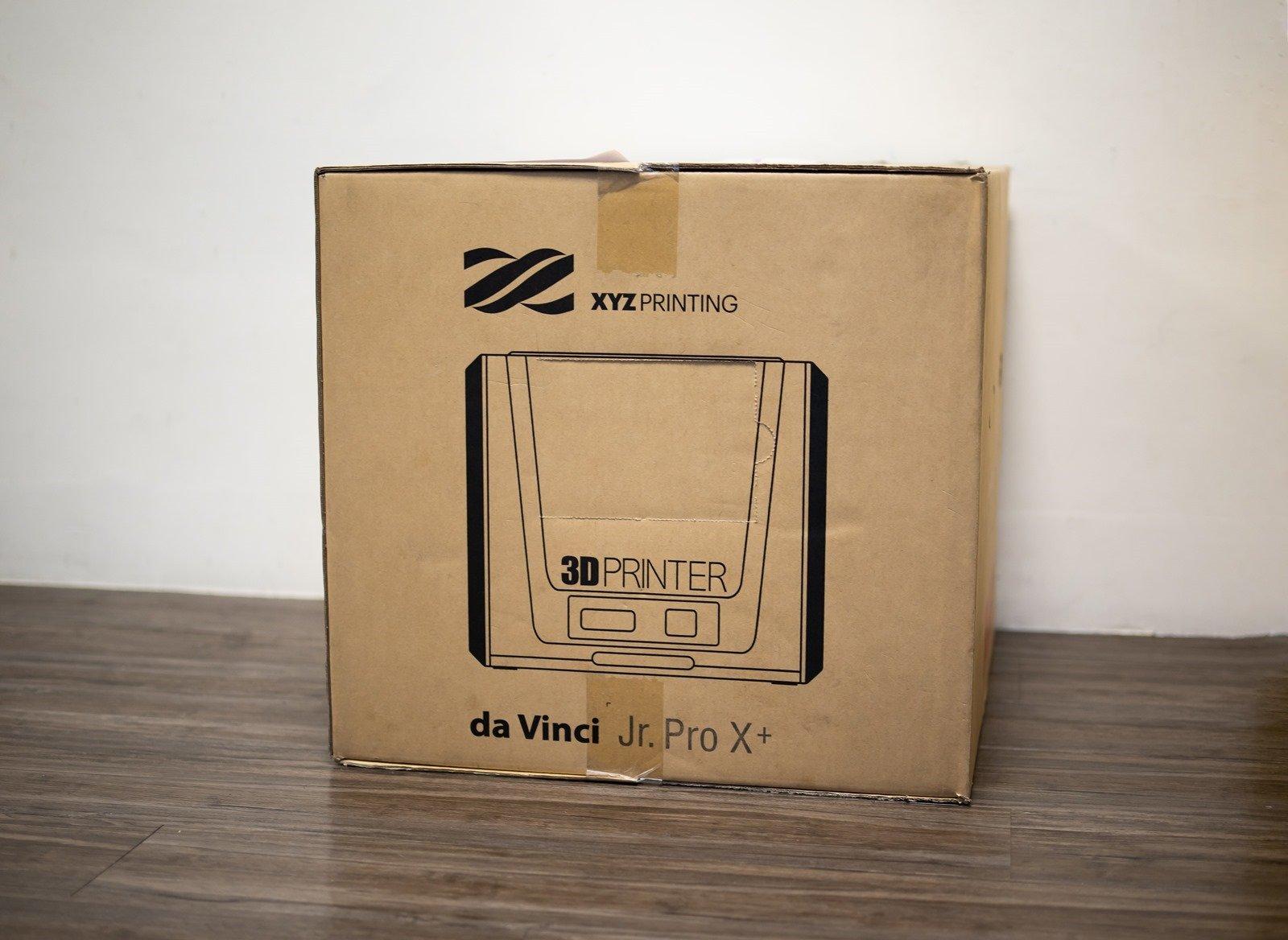 XYZprinting2020年新款的多功能3D列印機-da Vinci Jr. Pro X+,開箱與一般家電一樣簡單