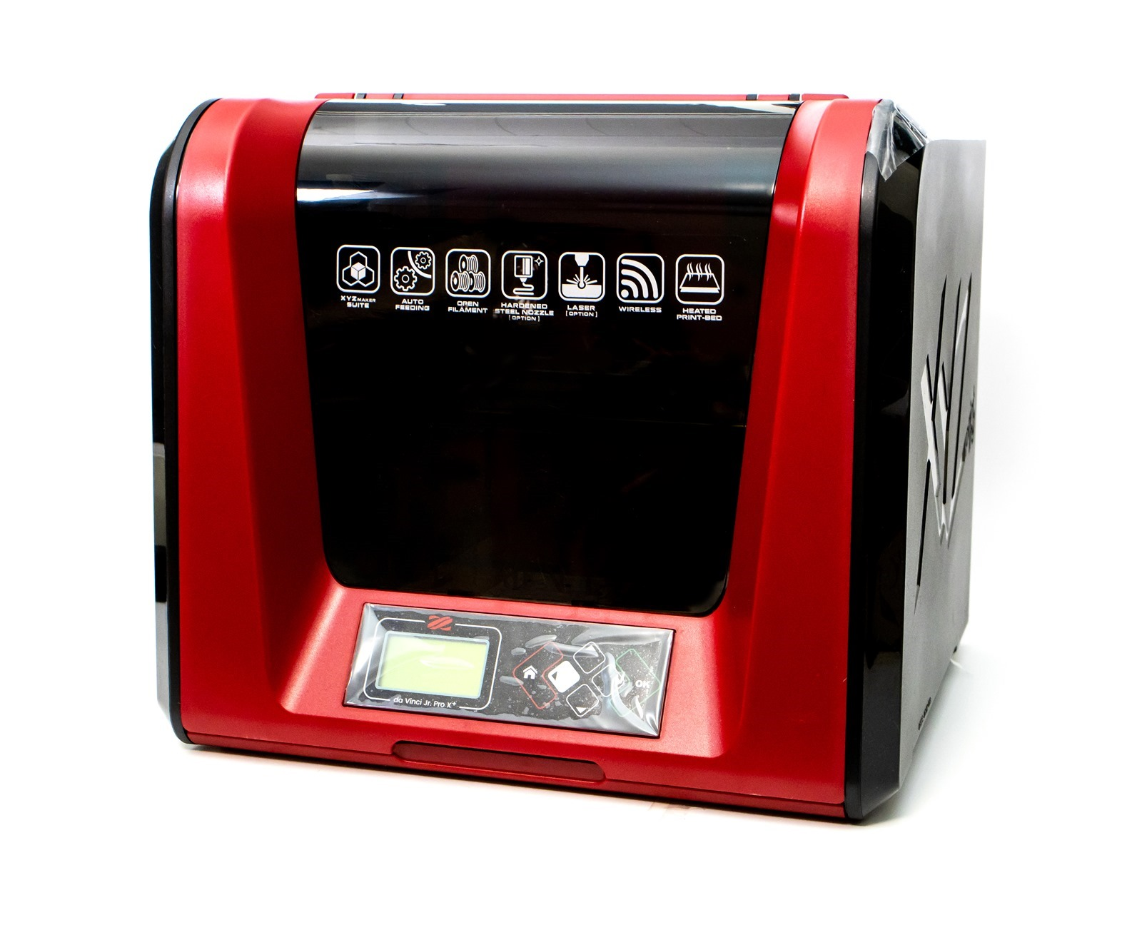 XYZprinring多功能3D列印機-da Vinci Jr. Pro X+3D列印機開箱,使用不同材質的第三方列印線材也沒問題,還有加熱式平台讓列印效果更棒了! 標題:da Vinci Jr. Pro X+-多功能3D列印機-3D打印機-3D印表機-3D立體列印機-XYZprinting