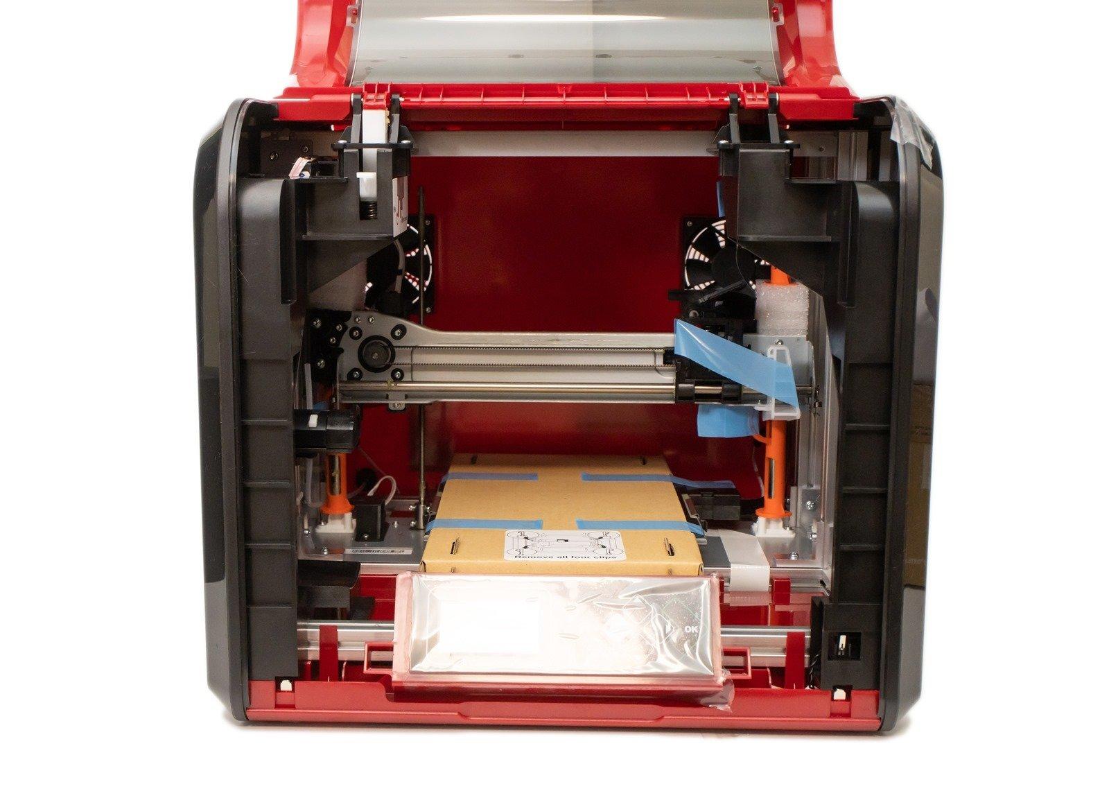 多功能3D列印機-da Vinci Jr. Pro X+,3D列印機內部構造