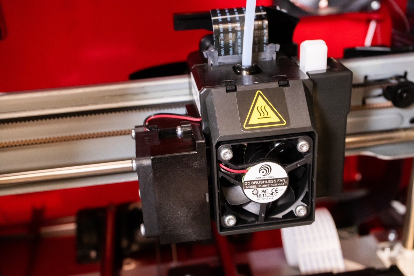 多功能3D列印機-da Vinci Jr. Pro X+,噴頭安裝的細節也可參考說明書的教學