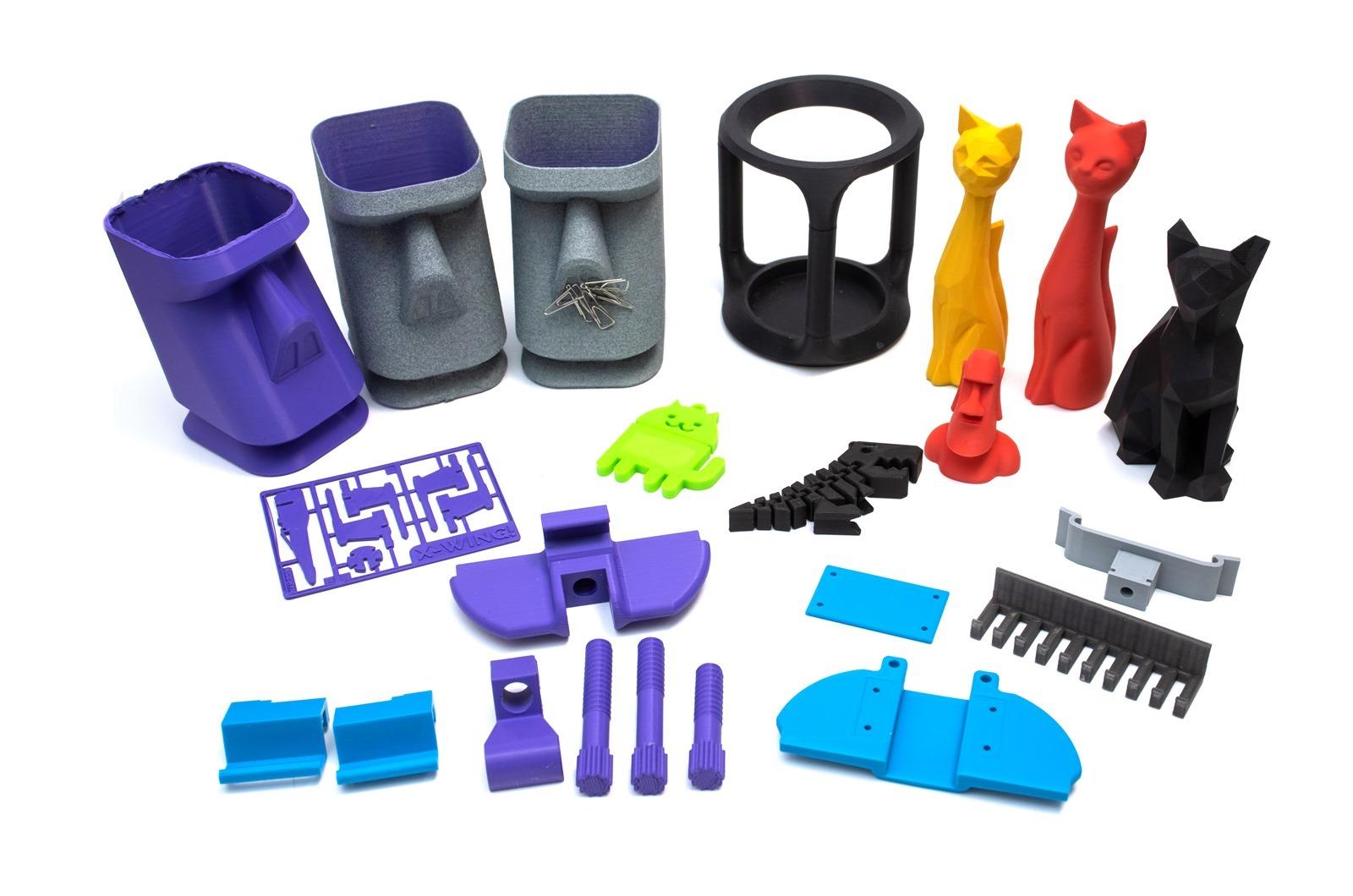 XYZprinting可使用第三方線材(它牌線材)了-用da Vinci Jr. Pro X+ 3D印機機,使用第三方它牌線材印出的個人化創意作品