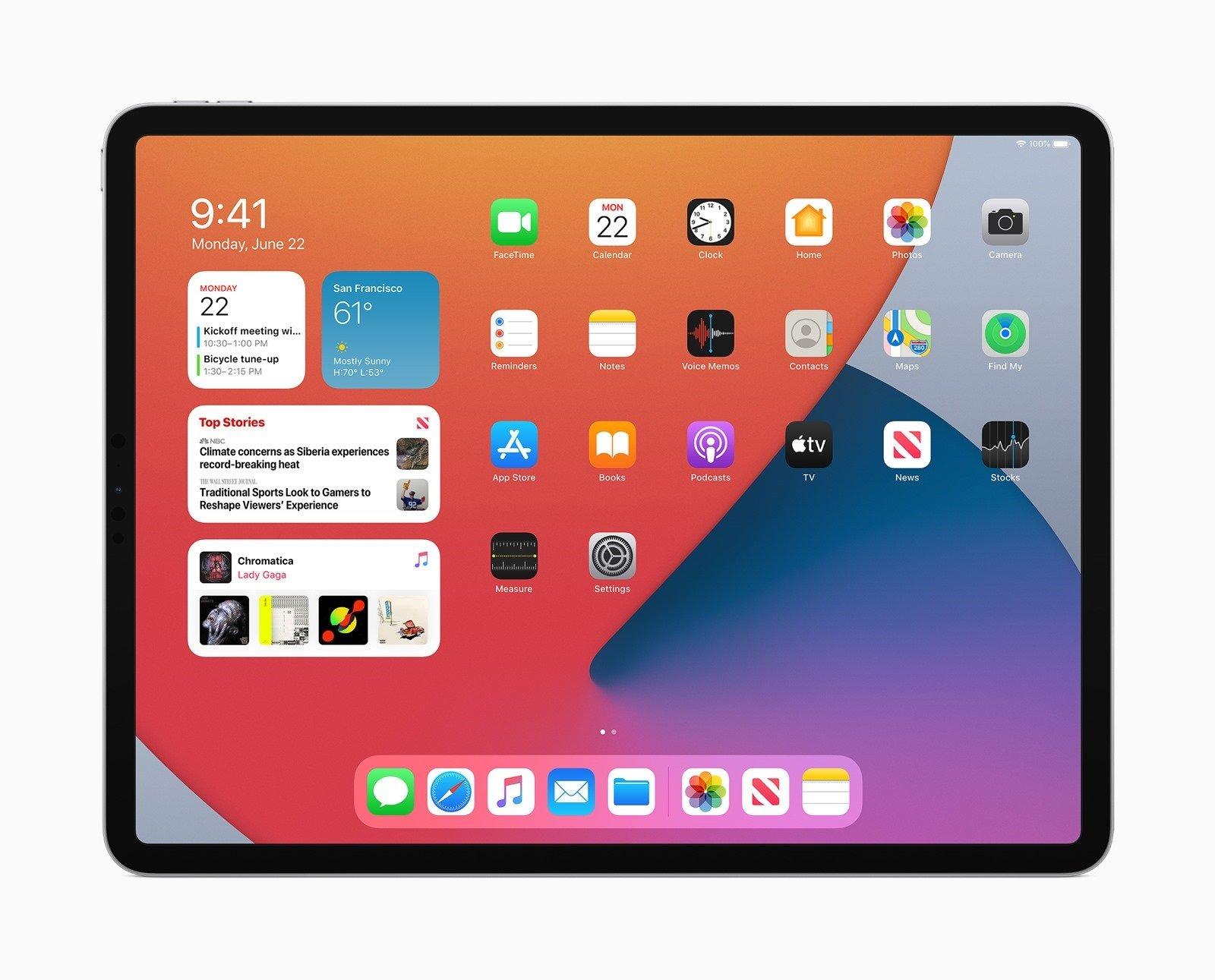 [WWDC 2020] iPadOS 14 加入專為 iPad 設計的眾多全新功能 @3C 達人廖阿輝