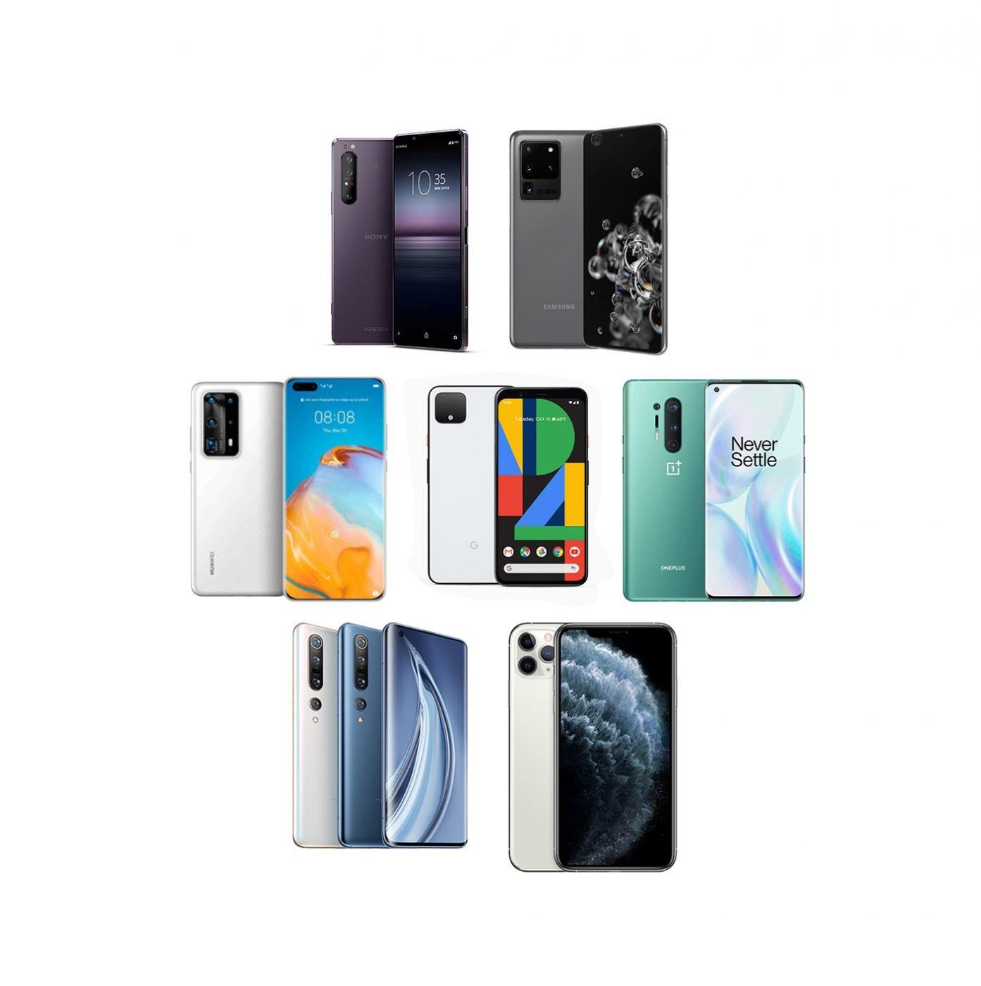 拍照誰最強?2020 旗艦手機九台一起實拍測試分享 (1) Xperia 1 II / OnePlus 8 Pro / Galaxy S20 Ultra / MI 10 Pro / Pixel 4 XL / P40 Pro+ / iPhone 11 Pro (Camera Comparison) @3C 達人廖阿輝