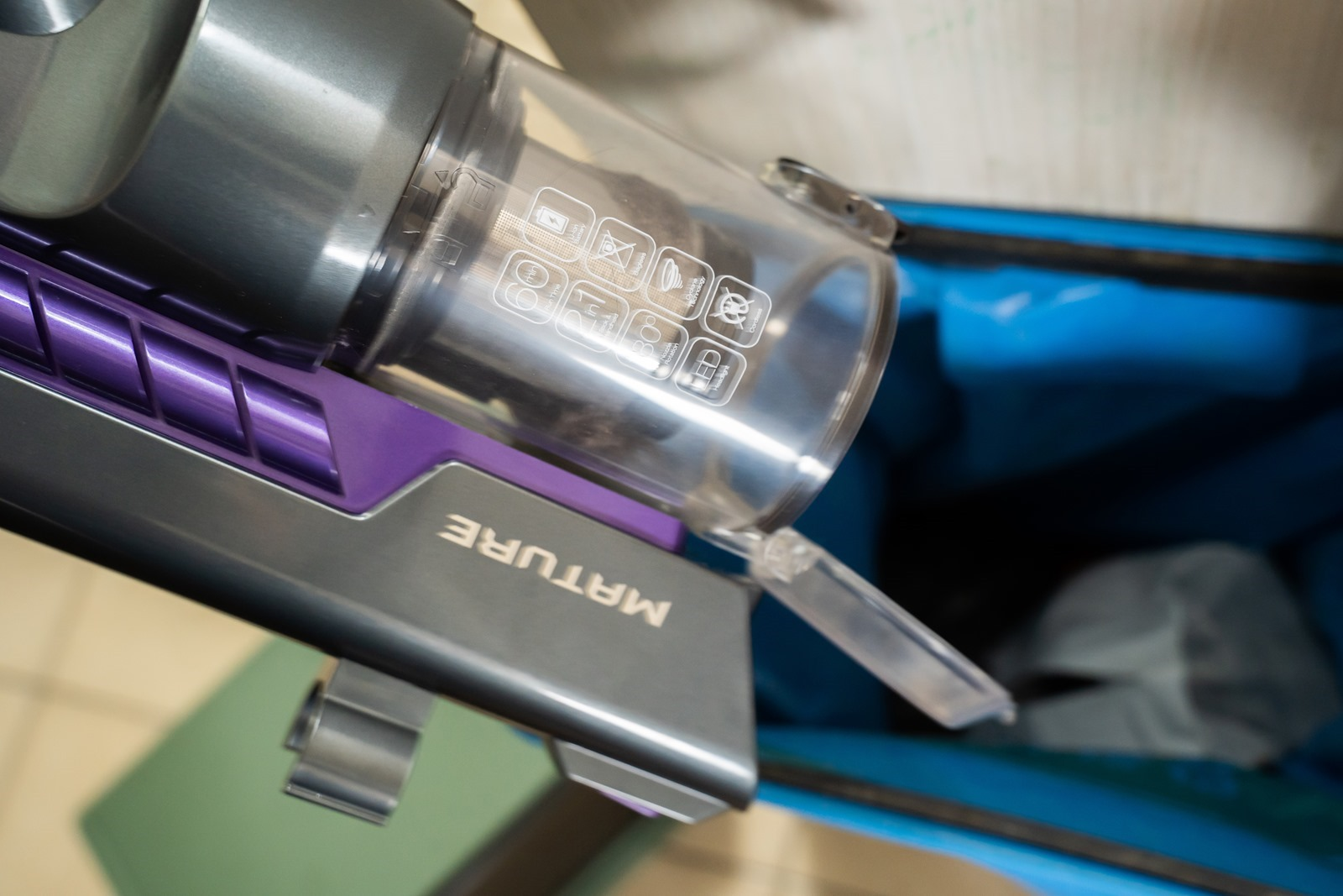 吸力強勁,可水洗濾心!MATURE 美萃 數位馬達無線吸塵器帶來安靜如夢境的清掃體驗 @3C 達人廖阿輝