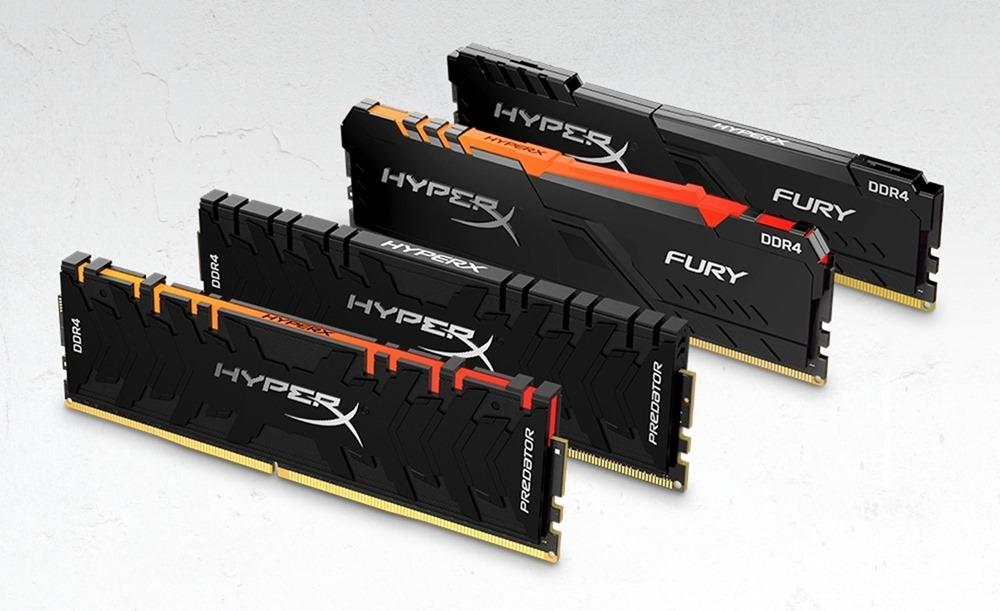 HyperX Predator DDR4 RGB、FURY DDR4 RGB 記憶體再升級,全新高速、256GB 大容量打造極致電競效能 @3C 達人廖阿輝