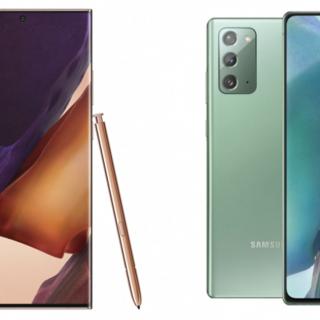Note 20 Ultra / Note 20 與 S20 系列、Note 10 系列完整規格比較 @3C 達人廖阿輝