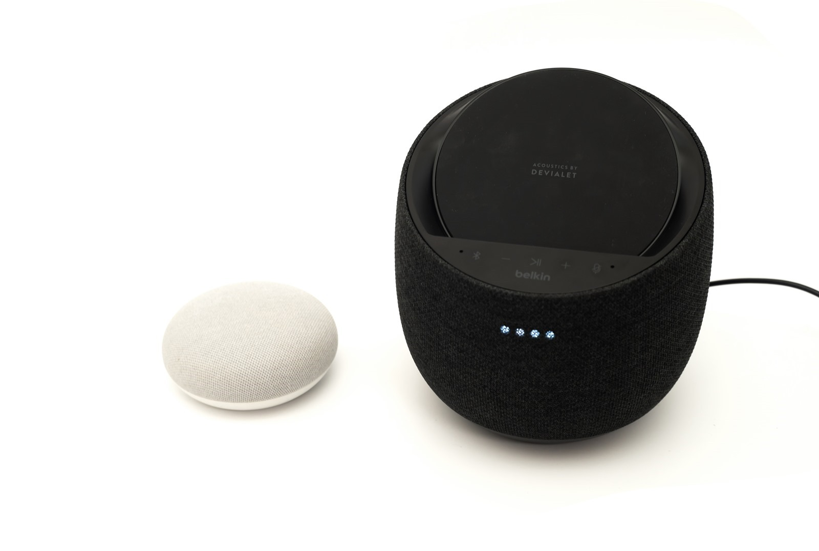 智慧型揚聲器音響+無線充電器!belkin SOUNDFORM™ ELITE Hi-Fi 帶來美型質感新生活 @3C 達人廖阿輝