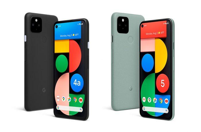 圖一:Google-10 月 1 日發表首款-5G-手機-—-Pixel-4a-5G-版-圖左-與-Pixel-5-圖右_thumb.jpg @3C 達人廖阿輝