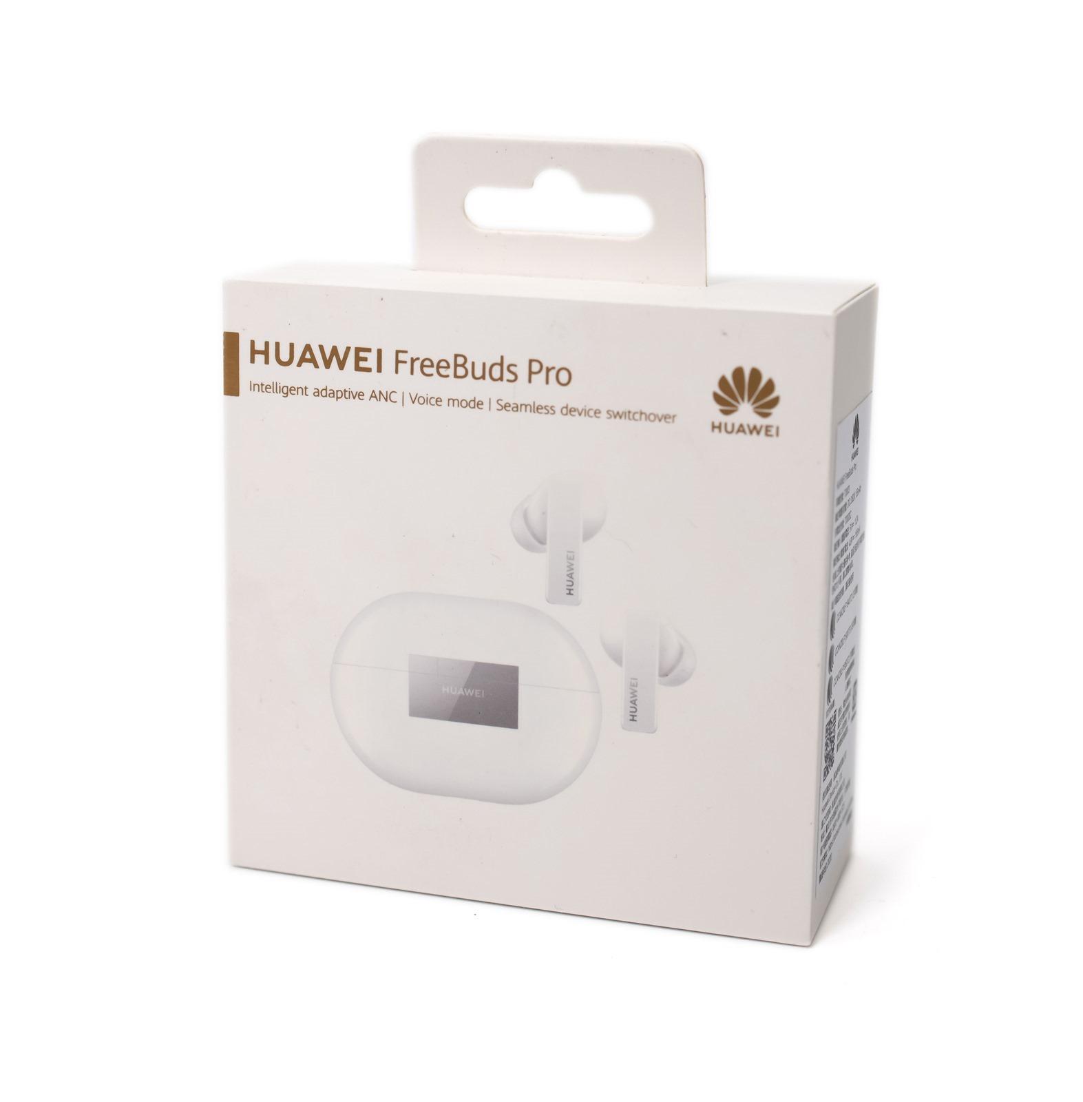 HUAWEI FreeBuds Pro 真無線藍牙耳機,獨家智慧動態降噪、自由選擇聽你想聽的,跨設備連接使用無障礙 @3C 達人廖阿輝