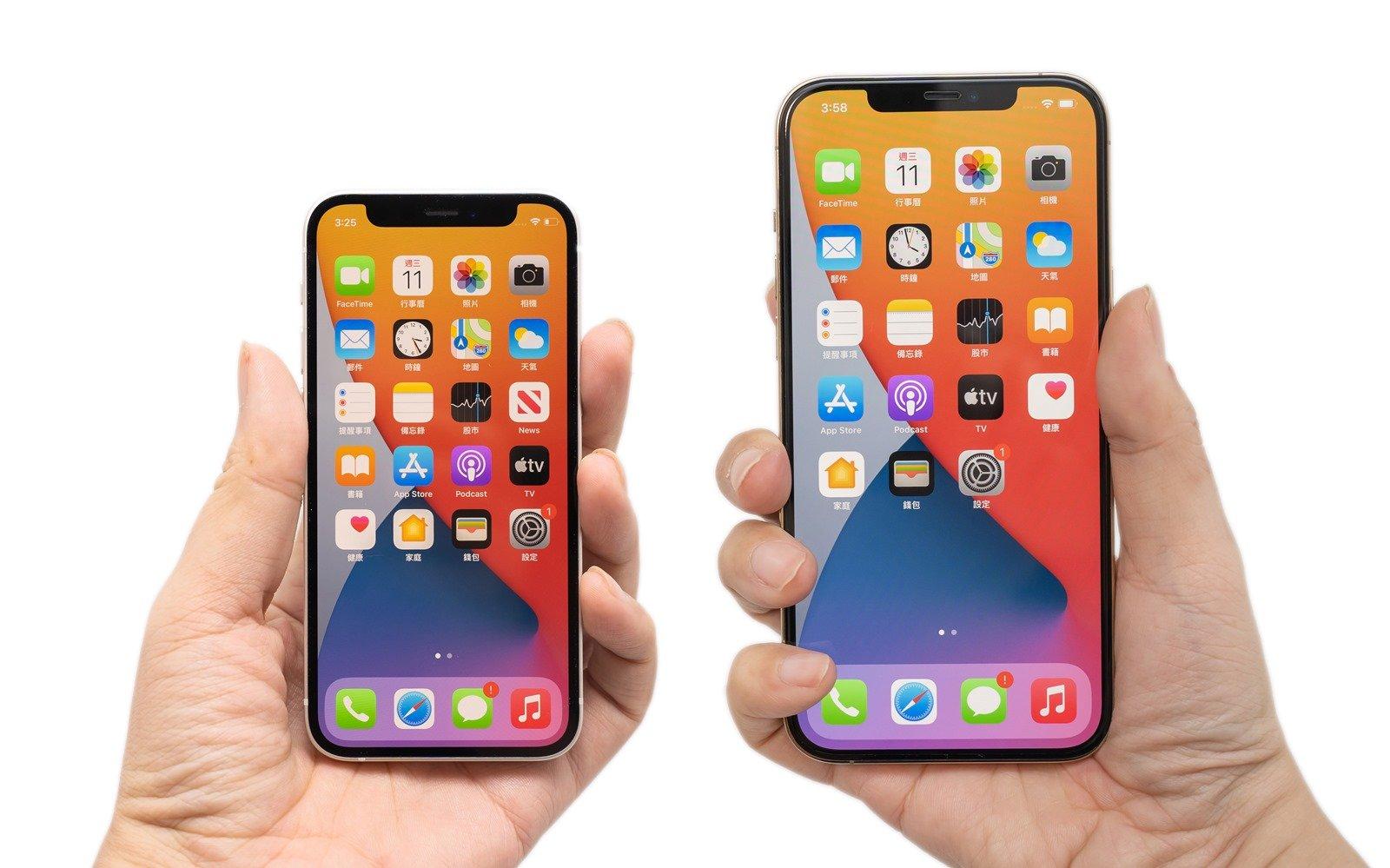 iPhone 12 mini / iPhone 12 / iPhone 12 Pro / iPhone 12 Pro Max 電力續航測試 @3C 達人廖阿輝