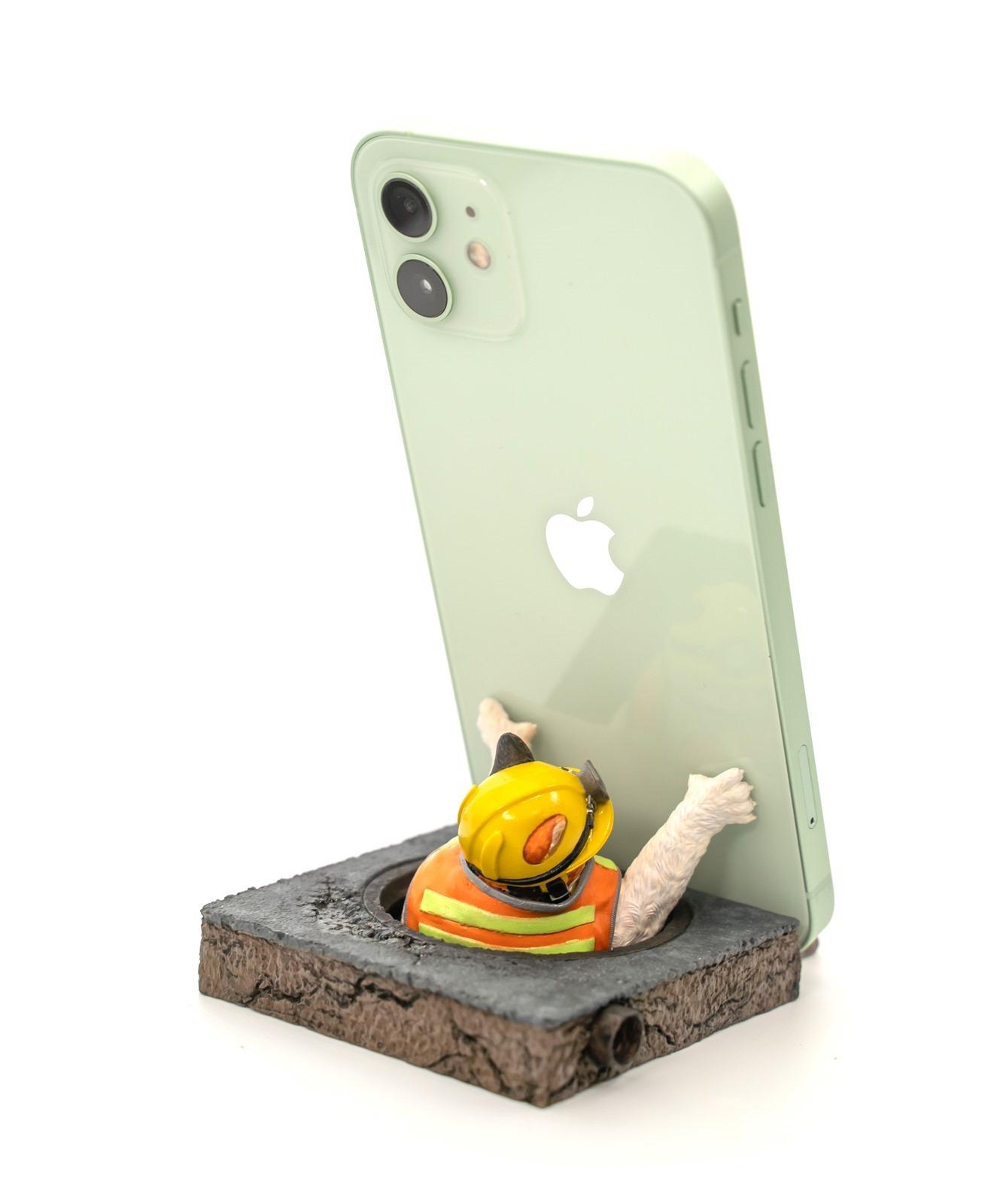 ZFunky Studio 撐得住系列『外送貓手機架』客製版開箱 (黑貓學妹 & 三花社長) + 配合 iPhone 12 / iPhone 12 Pro / iPhone 12 Mini / iPhone 12 Pro Max @3C 達人廖阿輝