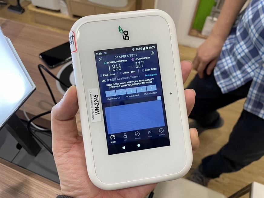 現在就可以體驗真 5G 高速網路!亞太電信 28GHz 毫米波實測 @3C 達人廖阿輝