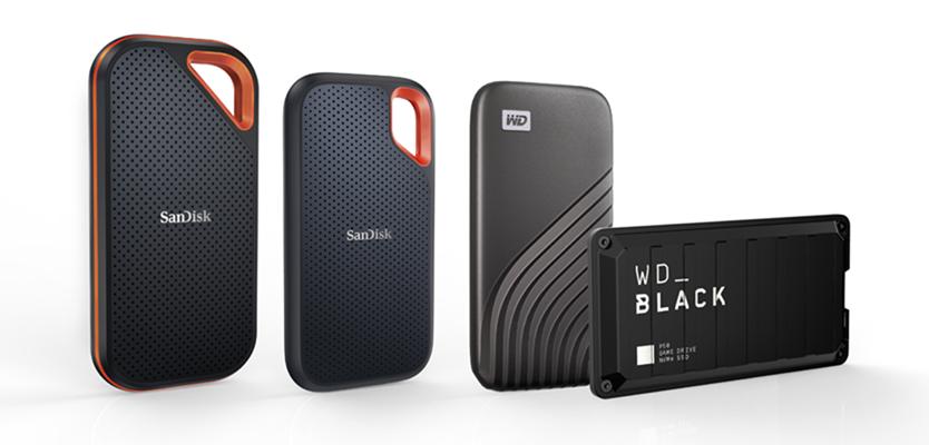就「4」要大!Western Digital 旗下 4 款全新行動 SSD 產品線推 4TB 大容量版本 帶給消費者與專業人士高速、耐用的數位儲存裝置新選擇 @3C 達人廖阿輝
