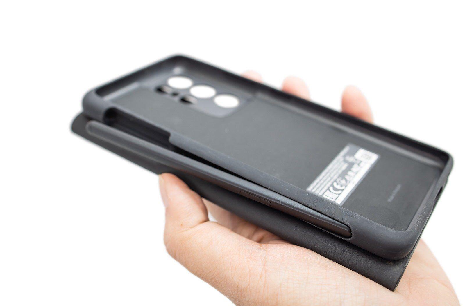 [動手玩] S21 Ultra 原廠 S Pen 收納掀蓋保護套動手玩 @3C 達人廖阿輝