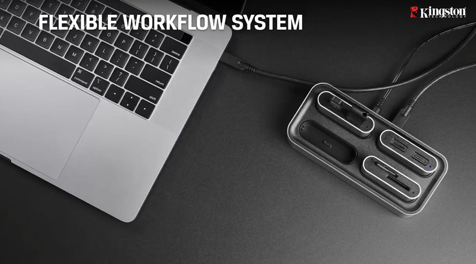 [CES 2021] 金士頓 2021 年度新品 Workflow Station 讀卡機模組座、NVMe SSD 系列新品齊發,專為高效能工作需求而生 @3C 達人廖阿輝
