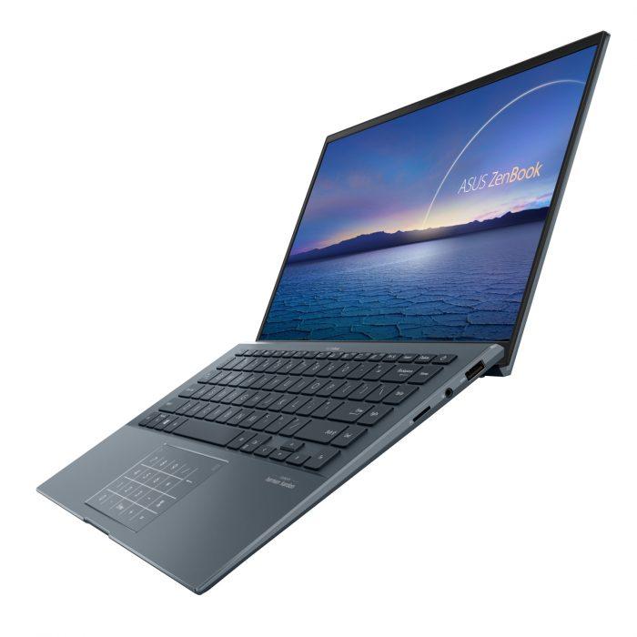 ASUS-ZenBook-14-Ultralight 四面極窄邊框設計,螢幕佔比高達 92,採用 100-sRGB 廣色域螢幕,帶來沉浸感十足的視覺享受。.jpg @3C 達人廖阿輝