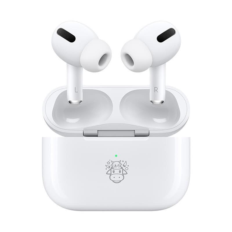 哞~哞~哞~ Apple 推出 AirPods Pro 牛年限量款! @3C 達人廖阿輝