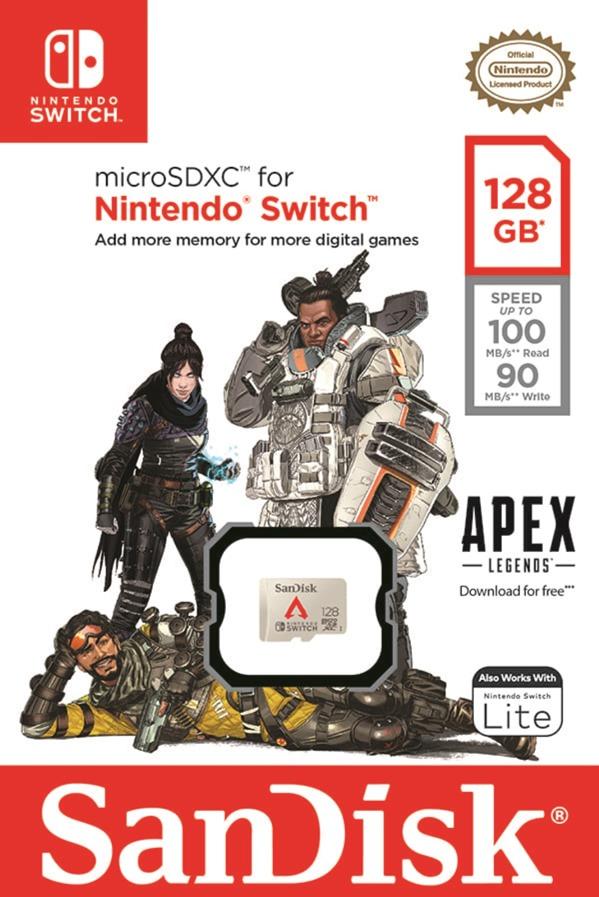 【新聞圖片一】Western-Digital 與 Respawn-Entertainment 合作推出專為《Apex 英雄》任天堂 Switch 版本的記憶卡,提供在邊疆的英雄們更高容量的儲存新選擇。_thumb.jpg @3C 達人廖阿輝