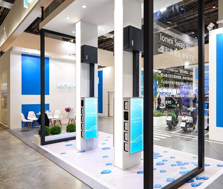 5.-KYMCO 首創的 Ionex「便利換電站」既能自家換電又利他,以具體行動號召全民一齊挺綠能。_thumb.jpg @3C 達人廖阿輝