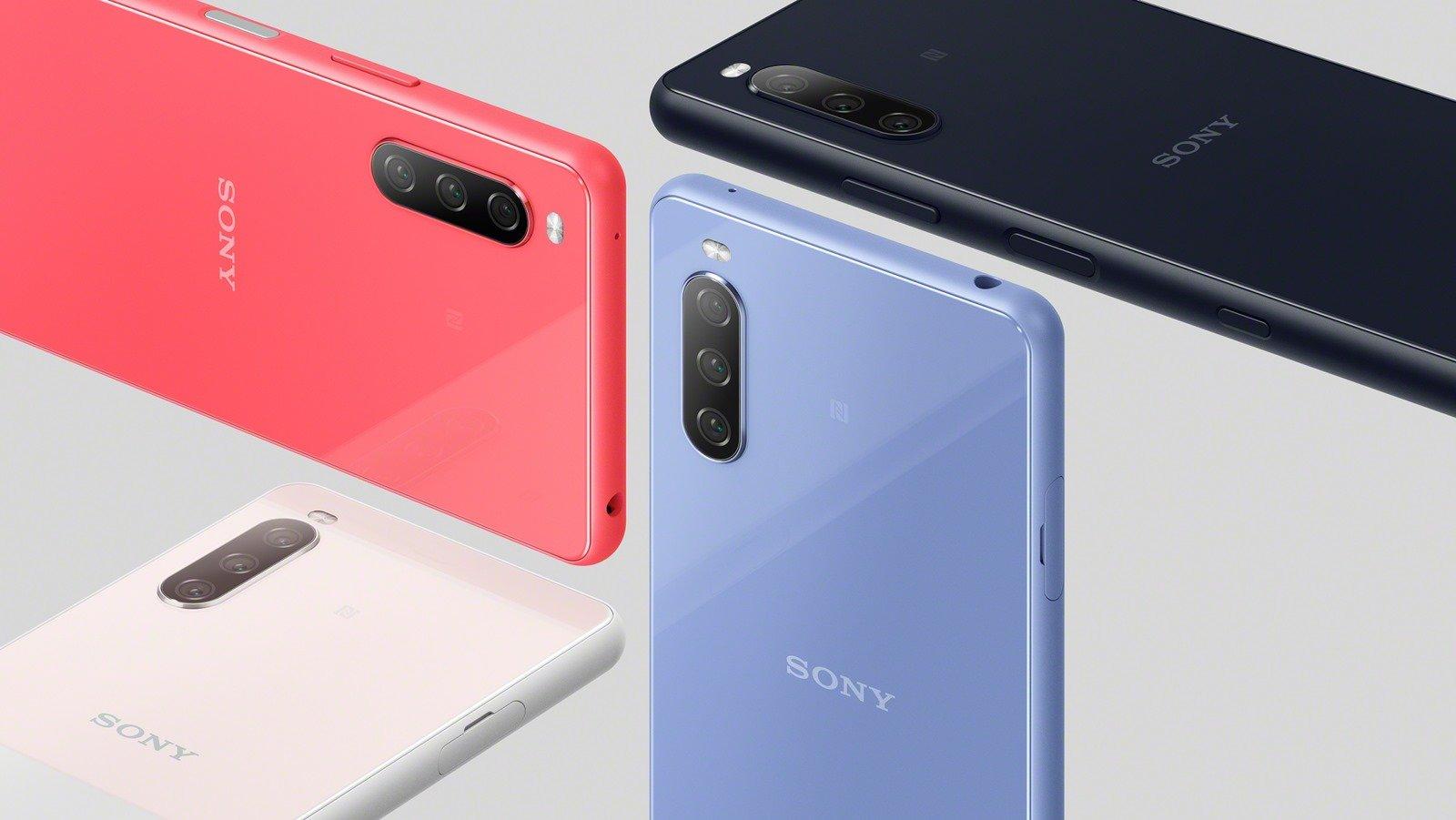 圖說、Xperia-10-III 共有水漾藍,水漾粉,水漾黑,水漾白等四款配色,預計將於 2021 年初夏於台灣市場推出.jpg @3C 達人廖阿輝