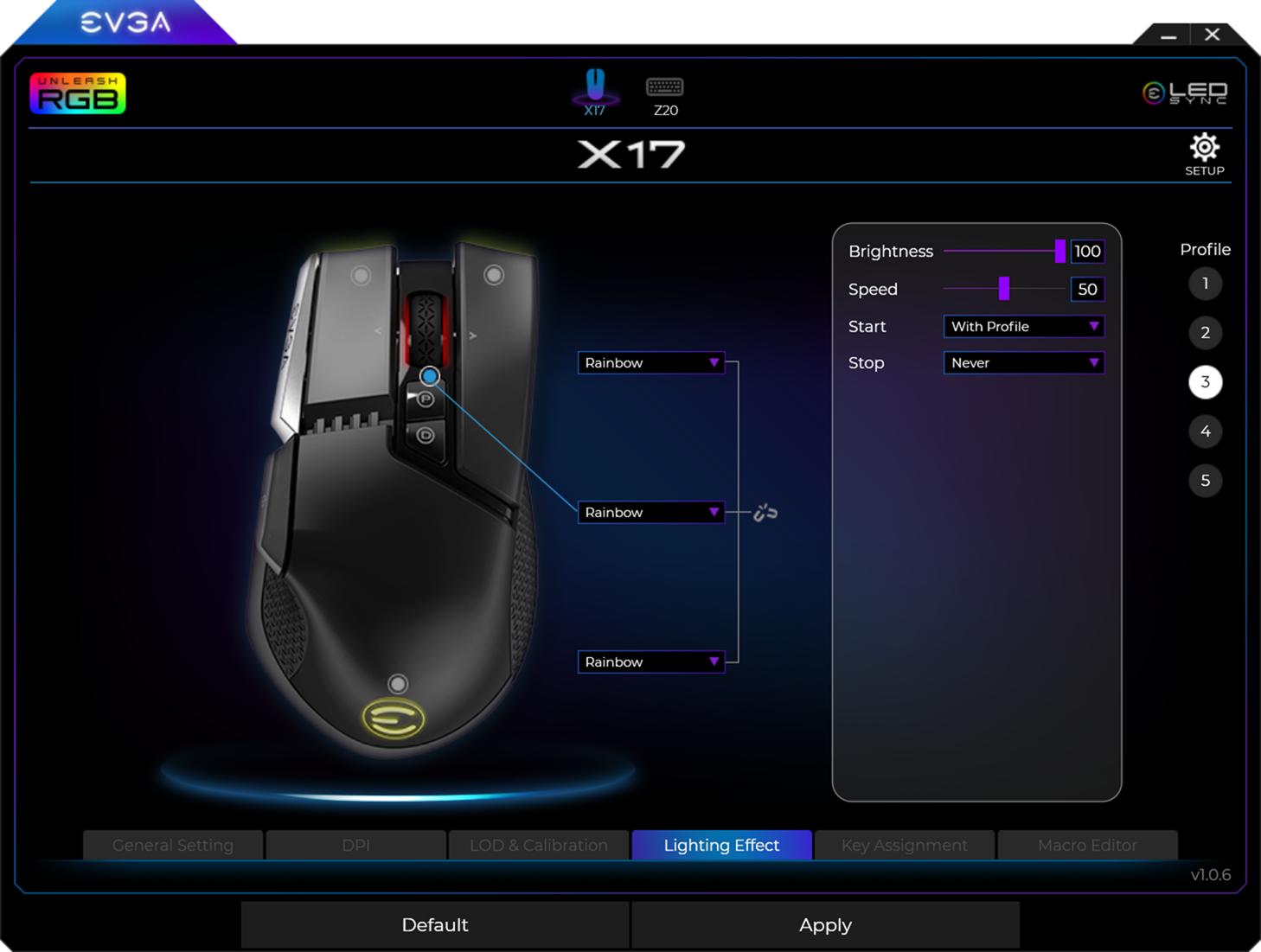 遊戲打造黑科技上身!EVGA Z20 RGB 光學機械鍵盤 / X17 遊戲滑鼠 開箱動手玩 @3C 達人廖阿輝