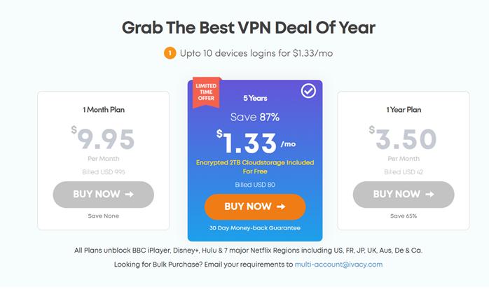 [讀者優惠] 阿輝專屬折扣碼優惠 87% 優惠再打八折,無限量看各國 Netflix 的 VPN 每月不用 30 台幣讓你省更多,一鍵破解中國愛奇藝與 B 站,再送 2TB 雲端空間 @3C 達人廖阿輝
