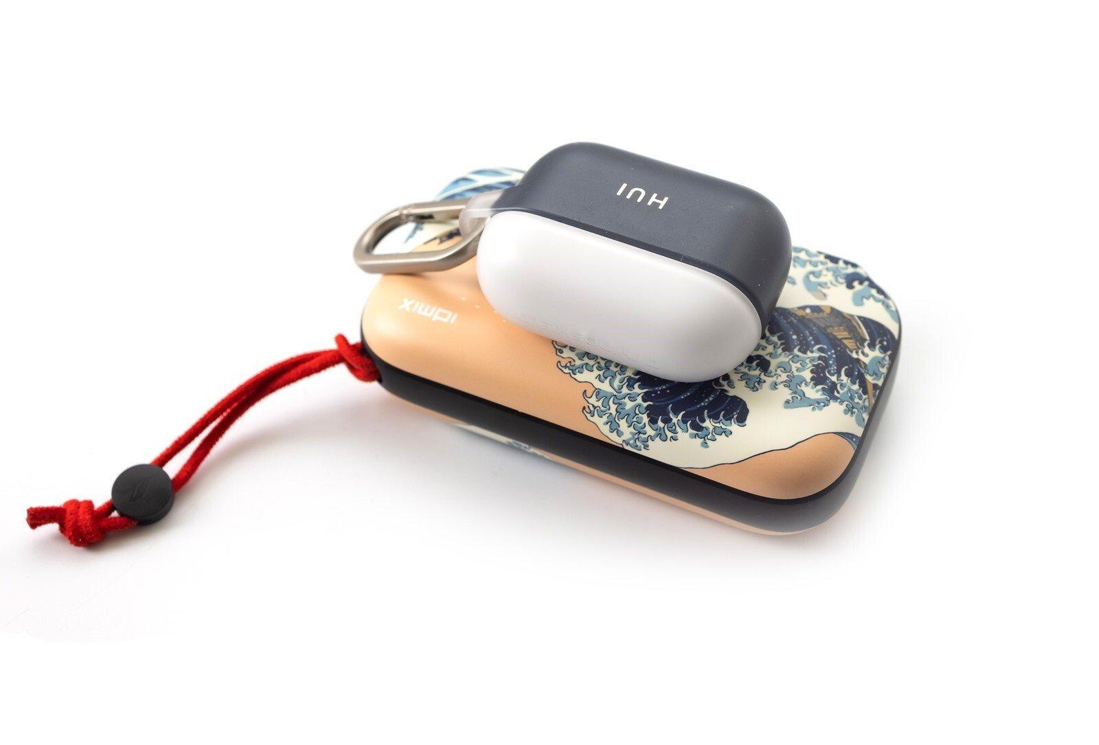 行動辦公最佳行動電源!IDMIX MR CHARGER 10000 CH06 Pro 行動電源 / QI 無線充電 / 充電器三合一 @3C 達人廖阿輝