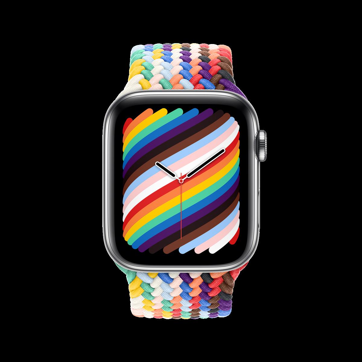 彩虹版單圈編織錶帶來了!Apple Watch 彩虹版錶帶頌揚與支持多元的 LGBTQ+ 運動 全新的編織單圈錶環,呈現出 LGBTQ+ 社群的廣度和經歷 @3C 達人廖阿輝