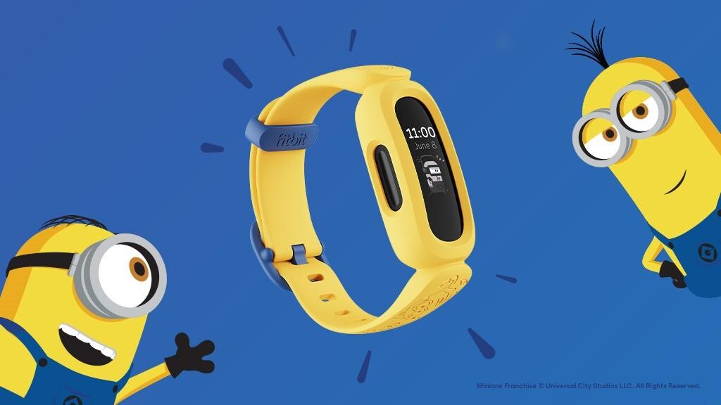 圖一:Fitbit 與環球影城照明娛樂工作室攜手推出 Fitbit-Ace-3 小小兵特別版,透過深受孩子們喜愛的小小兵以饒富趣味的方式鼓勵學童養成健….jpg @3C 達人廖阿輝