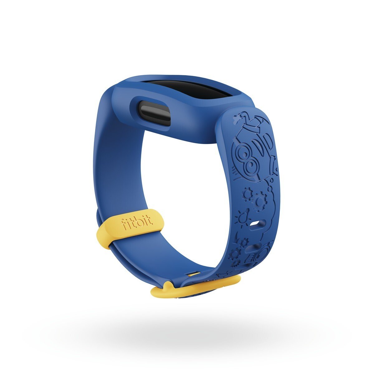 圖三 1:Fitbit 同步推出小小兵「神偷藍」和「淘氣黑」兩款錶帶配件讓更多孩子們透過小小兵的魅力充分展現個人風格,錶帶售價為新台幣-750-….jpg @3C 達人廖阿輝