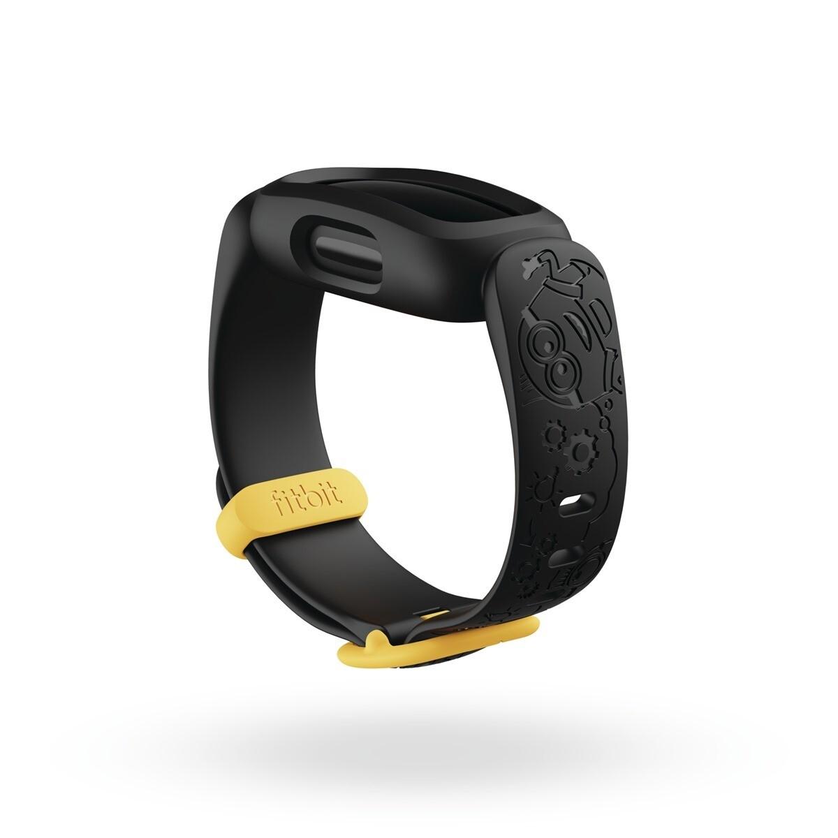 圖三 2:Fitbit 同步推出小小兵「神偷藍」和「淘氣黑」兩款錶帶配件讓更多孩子們透過小小兵的魅力充分展現個人風格,錶帶售價為新台幣-750-…_thumb.jpg @3C 達人廖阿輝