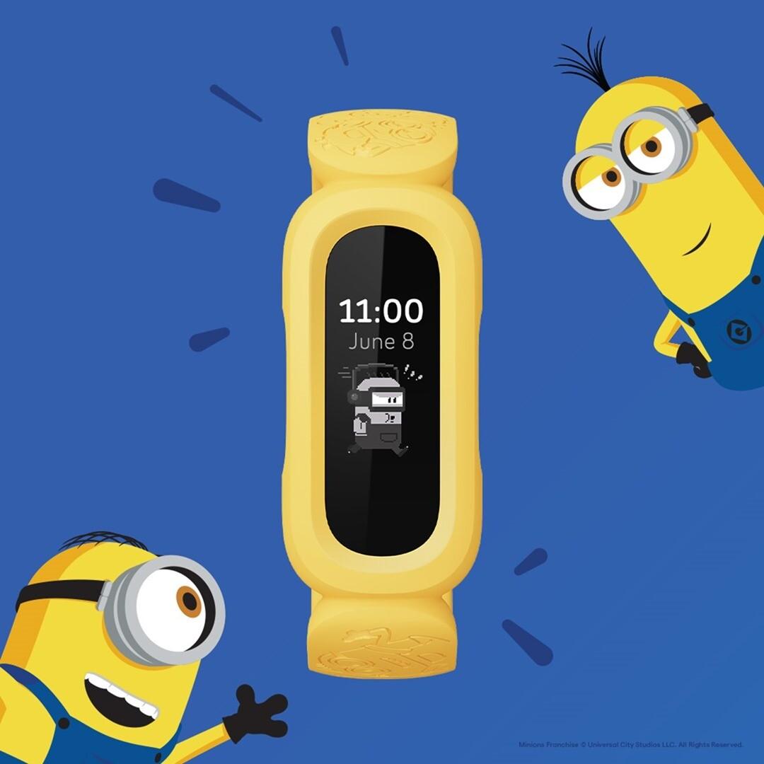 圖二:Fitbit-Ace-3-小小兵特別版擁有獨家小小兵動畫錶面,活潑的小小兵會持續鼓勵新「主人」們保持動力並顯示活動指標達成率等數據_thumb.jpg @3C 達人廖阿輝