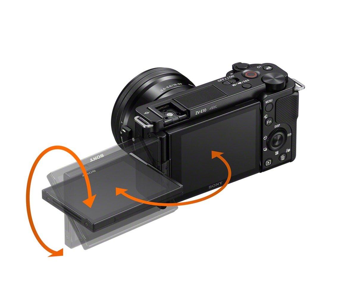 超直覺樂拍輕影音神手 Sony 全新 Alpha ZV-E10 登場 多元鏡頭焦段創作不設限 / 側翻式多角度螢幕 / 直覺錄影設定/ 清晰收音 @3C 達人廖阿輝