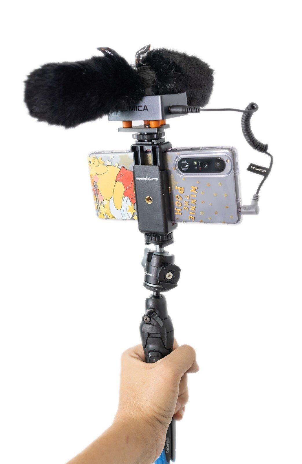 完美解決收音困擾!COMICA Traxshot 槍式變形麥克風 + COMICA BOOM X-D 無線麥克風 @3C 達人廖阿輝
