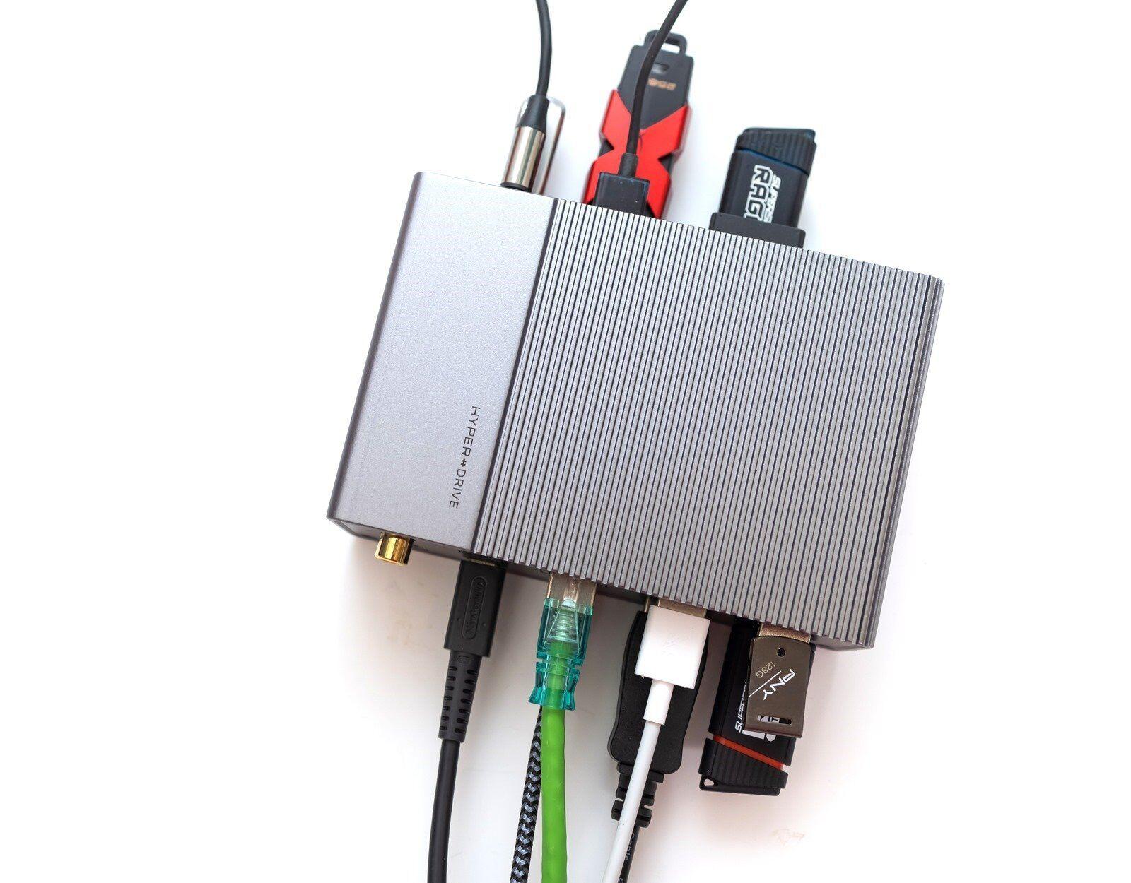 神級!HyperDrive 專業工作站機種 Gen 2 USB C 系列/ 4 IN 1 專業好入手輕便 USB C HUB @3C 達人廖阿輝