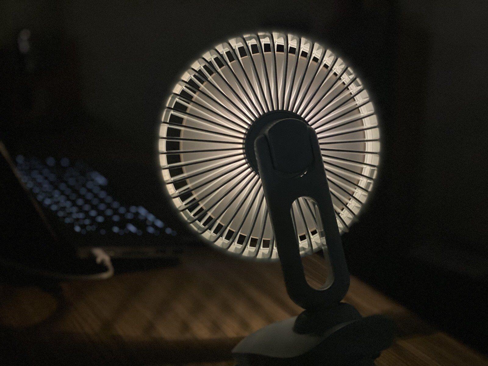 無印風簡約美學極致發揮,UF-IFAN Pro 二代小夜燈觸控涼風扇涼爽來襲 @3C 達人廖阿輝