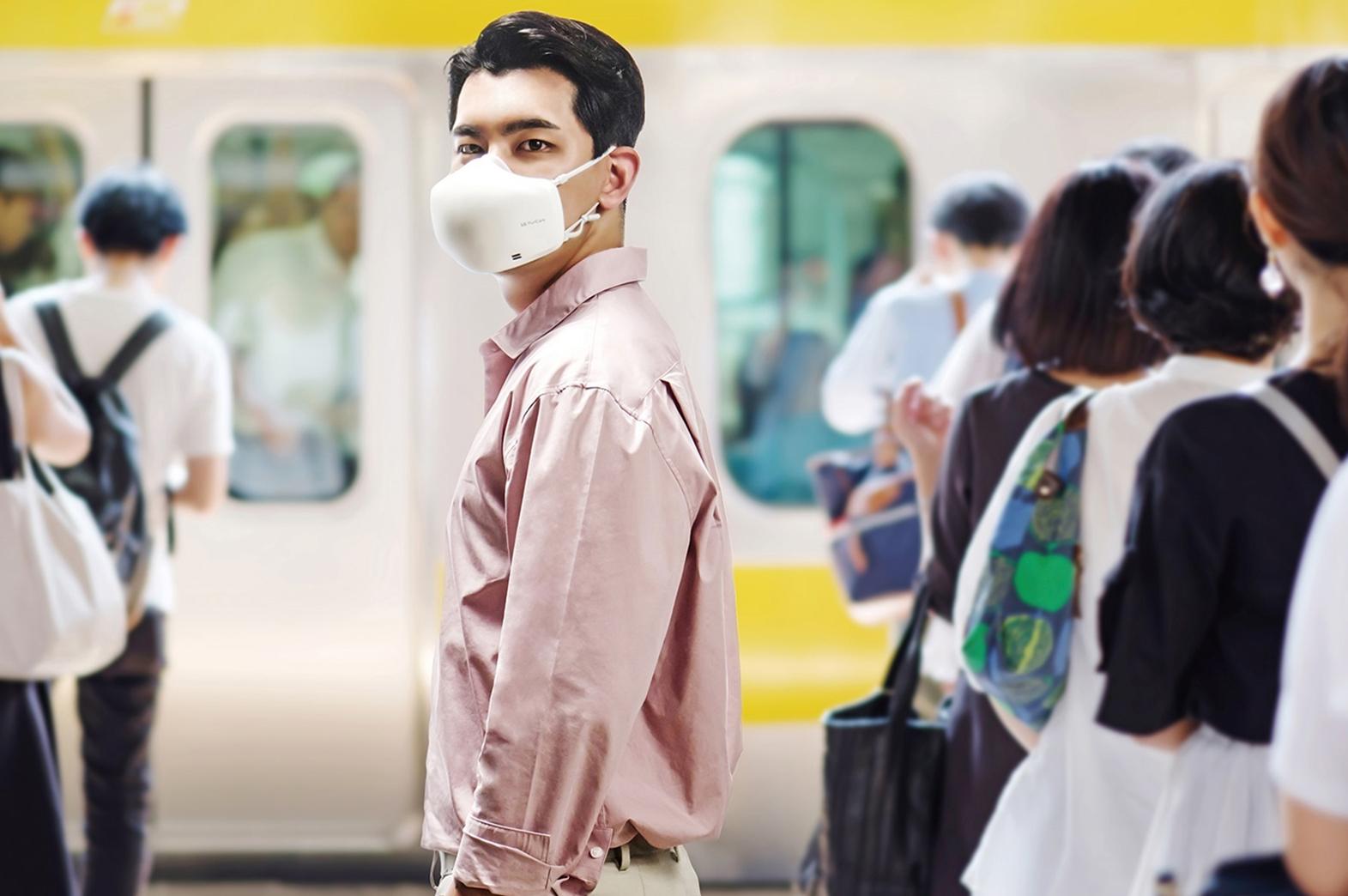 LG PuriCare™ 口罩型空氣清淨機第二代 全新升級上市 @3C 達人廖阿輝