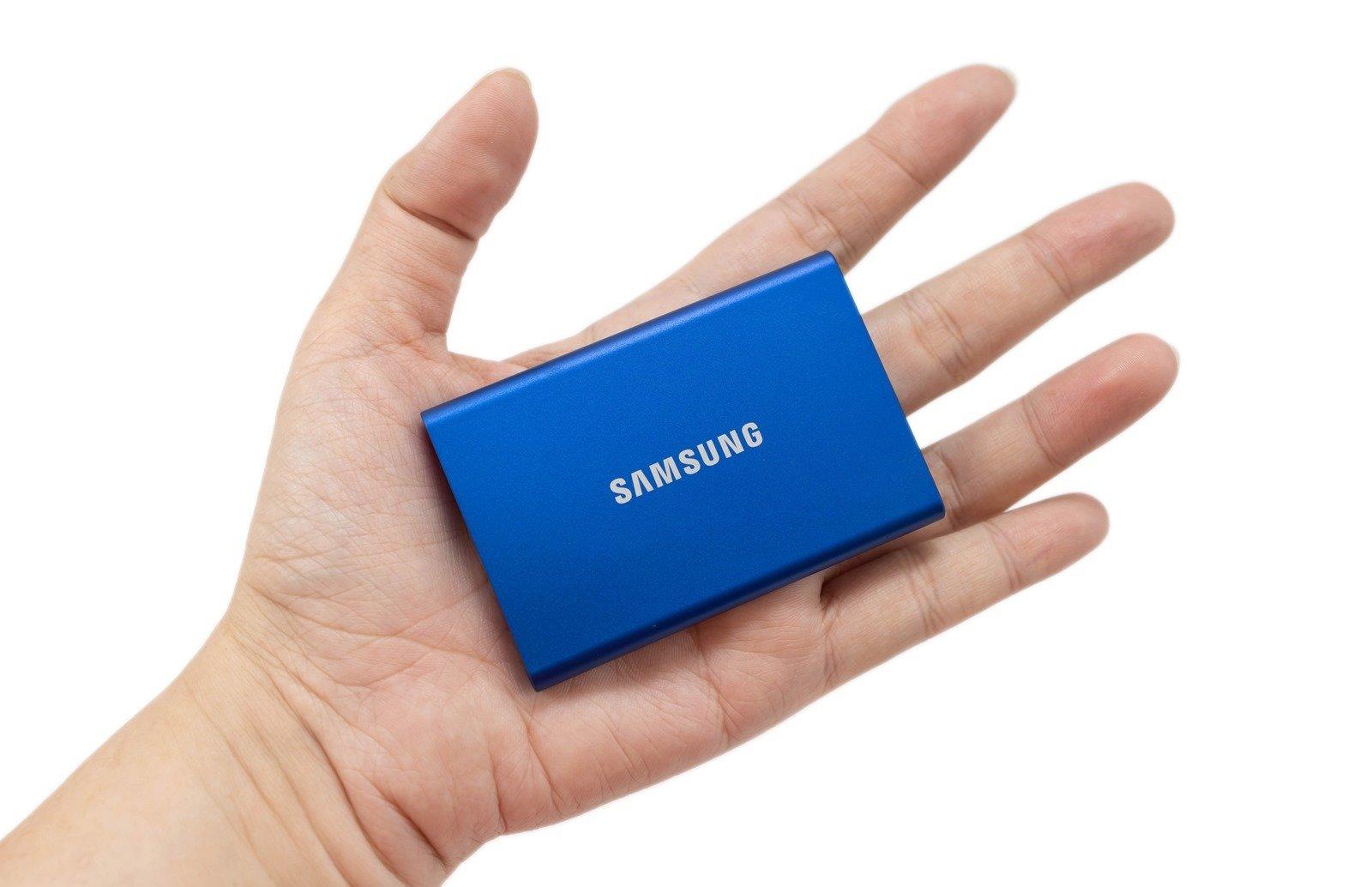 輕薄高速三星 T7 隨身固態硬碟 SSD 開箱分享 + 性能實測 @3C 達人廖阿輝