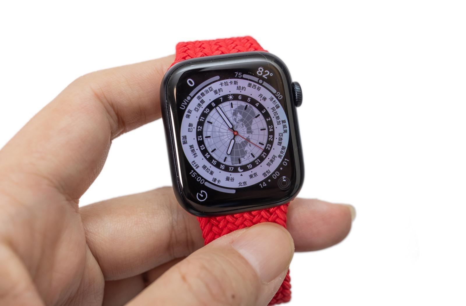 電力夠不夠用?Apple Watch Series 7 電力實際測試 @3C 達人廖阿輝